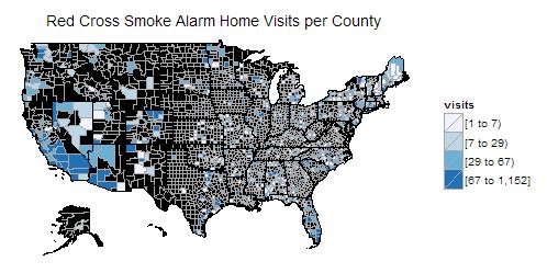 Red Cross Smoke Alarm Project
